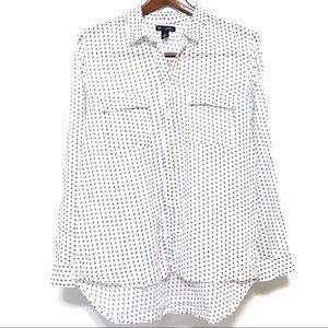 4/$25 GAP Factory Boyfriend Fit Button Up Shirt